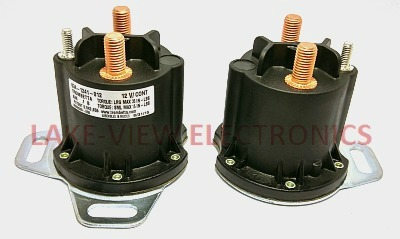 CONTACTOR 12V DC CONTINUOUS DUTY GROUNDED POWERSEAL
