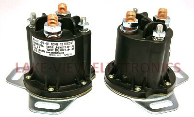 CONTACTOR 12V DC CONTINUOUS DUTY NON-GROUNDED POWERSEAL AH
