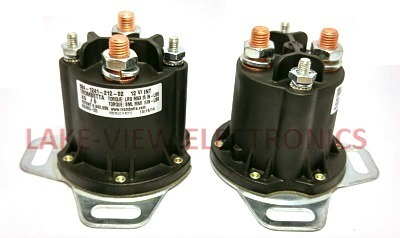 CONTACTOR 12V DC INTERMITTENT DUTY CYCLE POWERSEAL AH