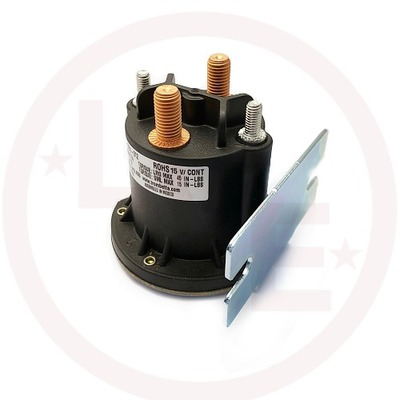 CONTACTOR 15V DC CONTINUOUS DUTY NON-GROUNDED POWERSEAL