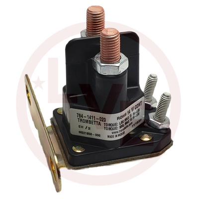 CONTACTOR 14VDC CONTINUOUS DUTY SILVER CONTACTS