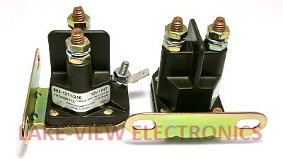 CONTACTOR 12V DC PLASTIC GROUNDED