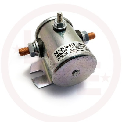 CONTACTOR 24VDC CONTINUOUS DUTY METAL