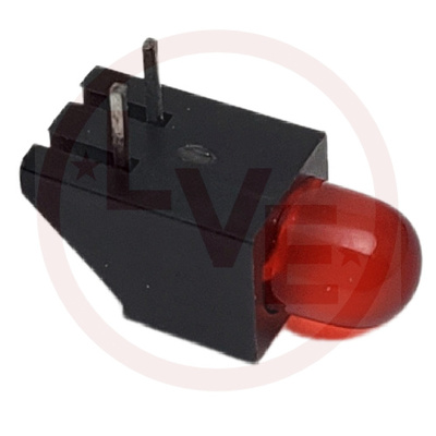 LED 4.7MM RED DIFFUSED 627NM 20MA 2V R/A